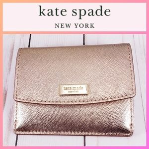 Kate Spade Laurel Way Rose Gold Petty